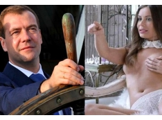 «Срамота! Шептий спускает членские взносы на силиконовую помощницу – «пельменную Юлю»?..» Партия Дмитрия Медведева дискредитирована эротическим скандалом